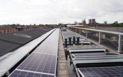 80 zonnepanelen voor VVE Rijnlaan
